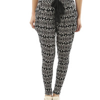Tribal Print Jogger Pant | Shop Tribal at Wet Seal