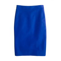 No. 2 pencil skirt in double-serge cotton - skirts - Women's sizes - J.Crew