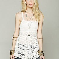 Free People  Crochet Tunic at Free People Clothing Boutique