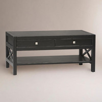 Antiqued Black Easton Coffee Table | World Market