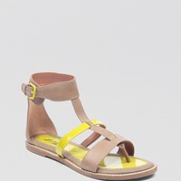 Lucky Brand Thong Gladiator Sandals - Blanca | Bloomingdale's