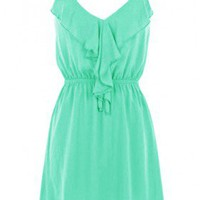 The 2013 Ruffle Jade Dress - 29 N Under