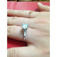 Have You Seen the Ring?: GIA 2.10ct Round Diamond Engagement ring