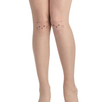 Purr Happiness Tights | Mod Retro Vintage Tights | ModCloth.com