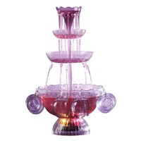 Nostalgia Electrics LPF-210 Vintage Collection Lighted Party Fountain Beverage Set