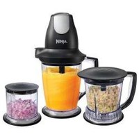 Ninja Master Prep Professional Blender, Chopper and Ice Crusher: More Powerful &amp; 2X Faster