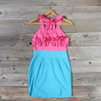 Full Sail Dress in Pink, Sweet Women's Country Clothing