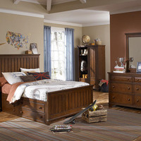 Jefferson Full Size Panel Bed