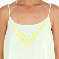 Double Call Cutout Cami $30