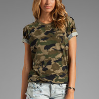 Lovers + Friends for REVOLVE Relaxed Tee in Camo from REVOLVEclothing.com