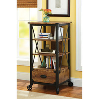 Walmart: Better Homes and Gardens Rustic Country Tech Pier, Antiqued Black/Pine Finish