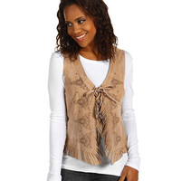 Scully Ladies Lazer Cut Vest