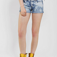 Dittos Angie Roll-Cuff Denim Short