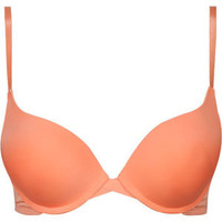 Cross Front Push Up Bra