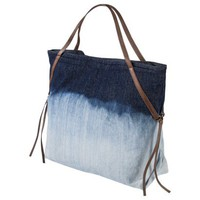 Mossimo Supply Co. Dip Dye Denim Tote Handbag - Blue