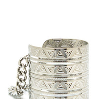 Tribal-Princess-Cuff SILVER - GoJane.com