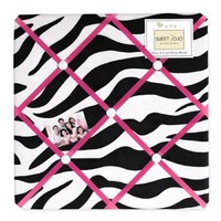 Funky Zebra Fabric Memory/Memo Photo Bulletin Board by Sweet Jojo Designs:Amazon:Baby