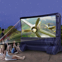 Airblown Inflatable Widescreen Deluxe Outdoor Movie Screen - 12`:Amazon:Electronics