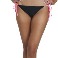 String Tie Side Colorblock Bikini | Shop Swimwear at Wet Seal