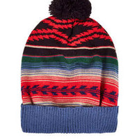 Fairisle Pom Beanie - Hats  - Bags & Accessories
