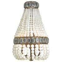 Currey & Company Lana Wall Sconce Cream