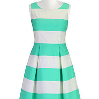 Show your stripes A-line dress