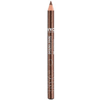 New York Color Show Time Glitter Eyeliner Pencil, Glitterazzi Brown