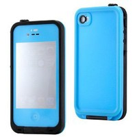 Waterproof Shockproof Full Body Skin Case Cover Pouch for iPhone 4 4S 4G