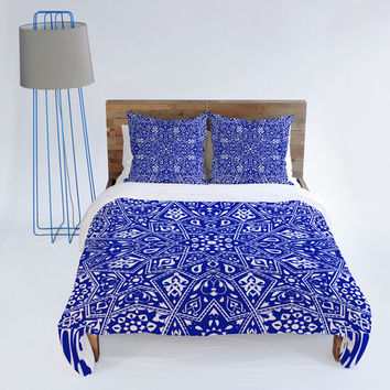 DENY Designs Home Accessories | Aimee St Hill Amirah Blue Duvet Cover
