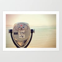 Ocean Through the Viewfinder Art Print by Danielle Denham