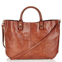 Woven Lady Tote Bag - Bags & Wallets  - Bags & Accessories