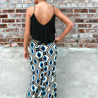 Walking Stick Maxi Skirt
