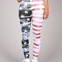 All American Leggings | Trendy Leggings at Pink Ice