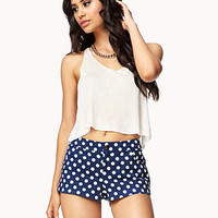 Polka Dot Shorts | FOREVER 21 - 2048140924