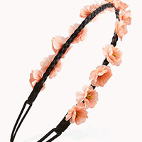 Braided Floral Headband