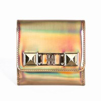 PROENZA SCHOULER PS11 SMALL METALLIC HOLOGRAM WALLET - WOMEN - PROENZA SCHOULER - OPENING CEREMONY