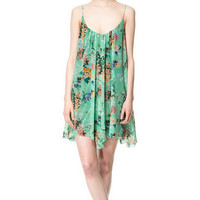 PRINTED STRAPPY DRESS - Dresses - Woman | ZARA United States