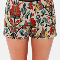 Pattern of the Century Tapestry Shorts
