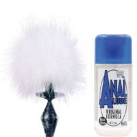 Amazon.com: Small Bunny Tail with Plug & Anal Lube: Health & Personal Care