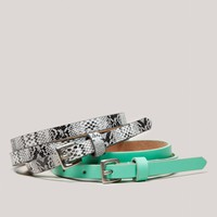 AEO Belt Set | American Eagle Outfitters