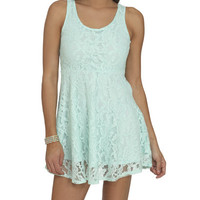 Lace Tank Dress | Shop Dresses at Wet Seal