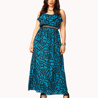 Retro Geo Maxi Dress | FOREVER21 PLUS - 2053607983