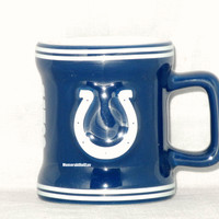 Indianapolis Colts 2 oz Sculpted Mini Mug NFL