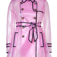 Valentino R.E.D. - Clear Petunia Raincoat