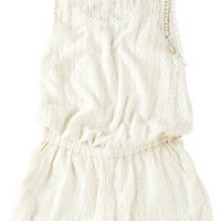 Jessica Simpson Crochet Knit Blouson Romper:Amazon:Clothing