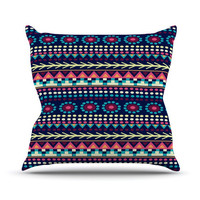 "Nika Martinez ""Aiyana"" Throw Pillow 