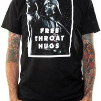 Star Wars T-Shirt - Free Throat Hugs