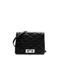 QUILTED MESSENGER BAG WITH POCKET - Handbags - Woman | ZARA United States