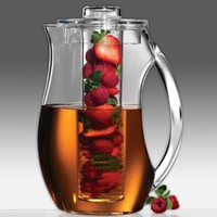 Prodyne Fruit Infusion 93-Ounce Natural Fruit Flavor Pitcher:Amazon:Kitchen & Dining