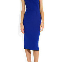 Roland Mouret | Belmont one-shoulder wool-crepe dress | NET-A-PORTER.COM